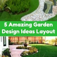 5 Amazing Garden Design Ideas Layout