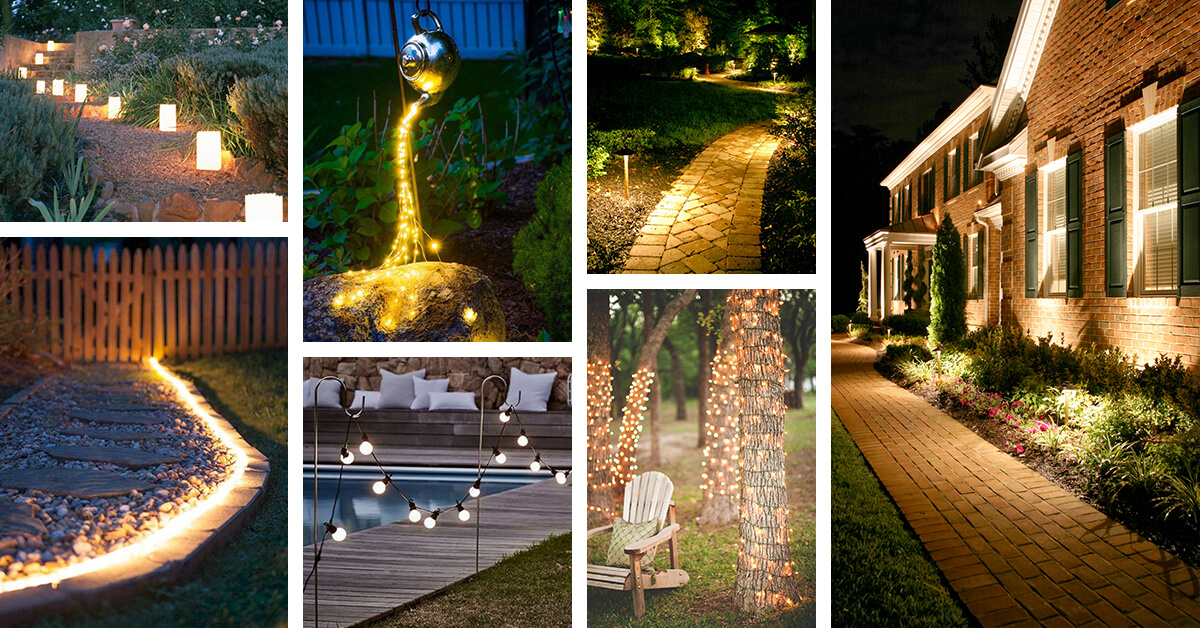 best landscape lighting ideas