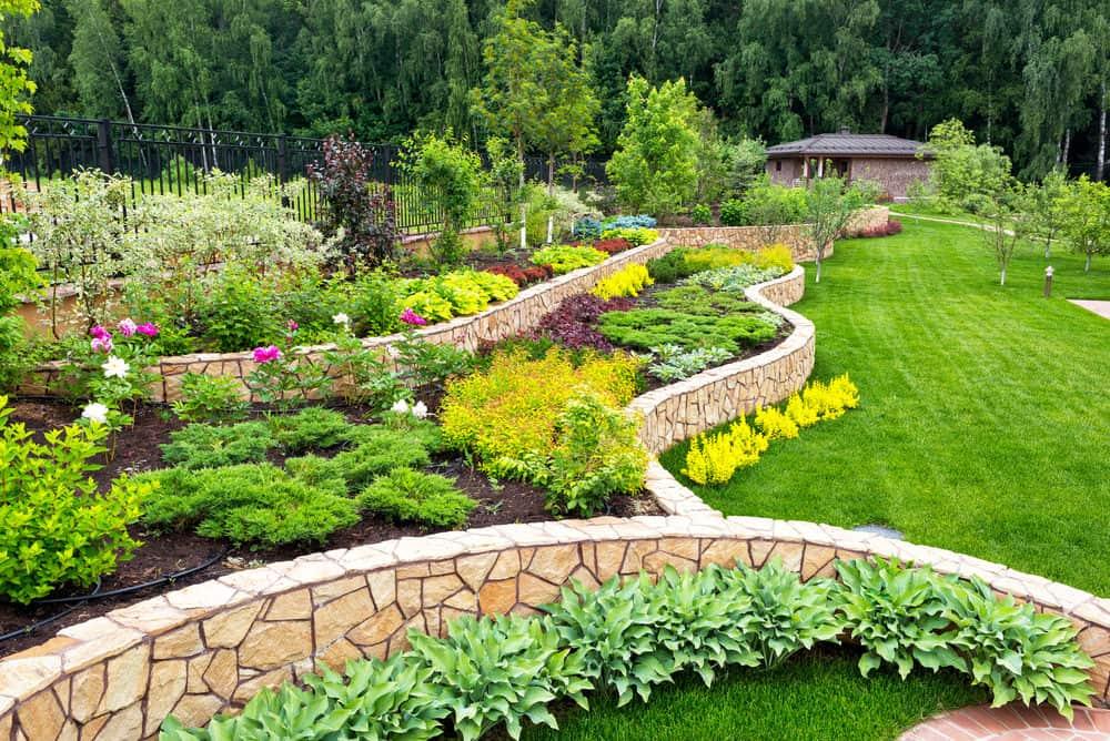 how to design a garden landscape