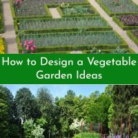 how to design a vegetable garden ideas