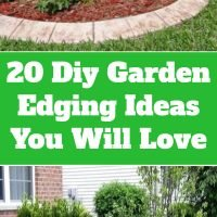 20 Diy Garden Edging Ideas You Will Love