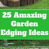 25 Amazing Garden Edging Ideas