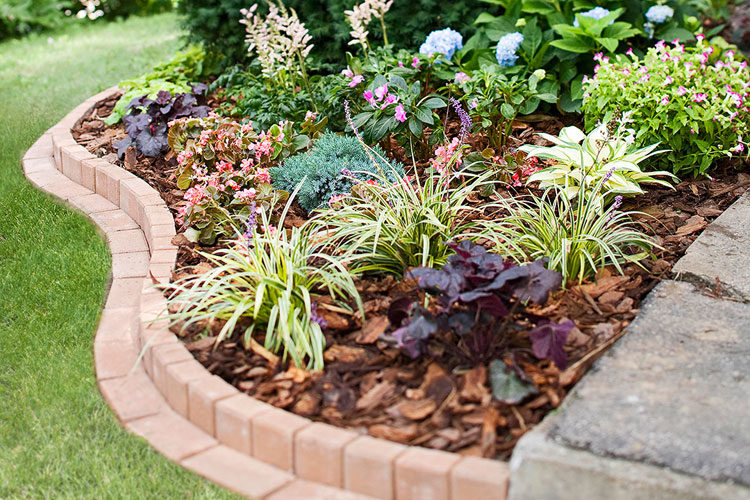 lawn edging ideas to keep grass out