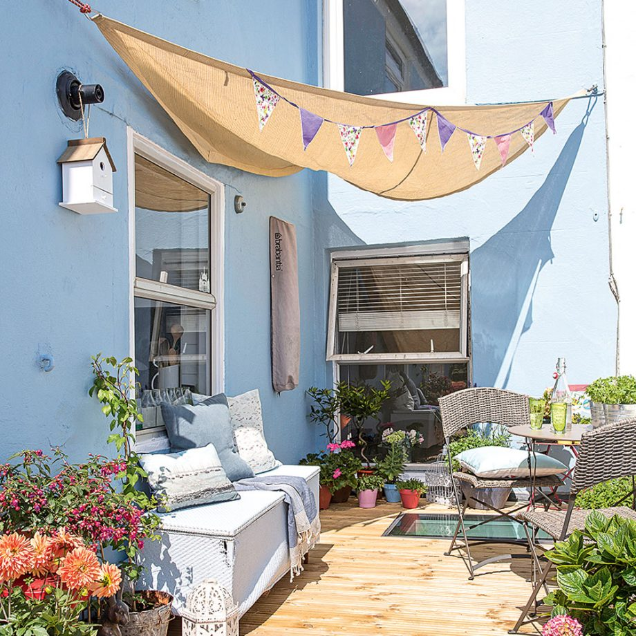 Create an inexpensive awning