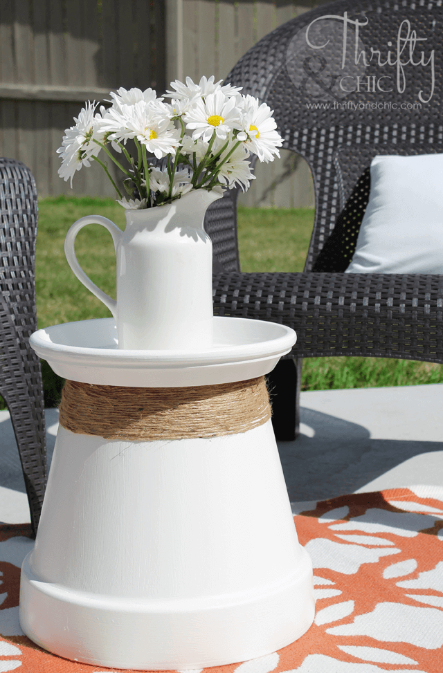 Pot-Side-Up Restructured Patio Table