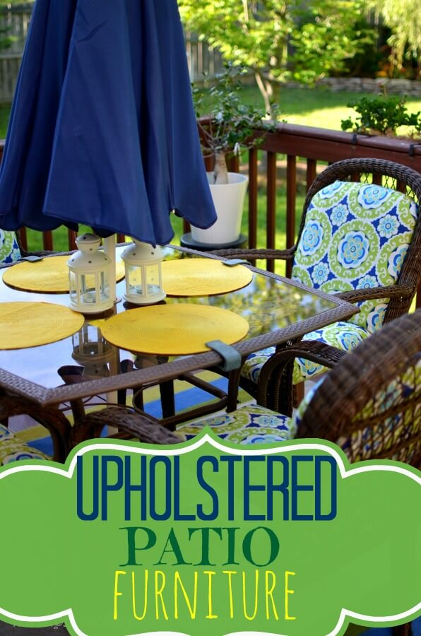 Uptown-Downtown DIY Patio Upholstery