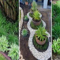 simple front yard landscaping ideas on a budget